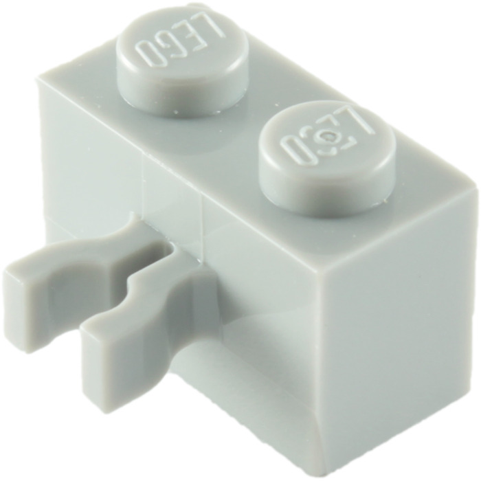 2x LEGO 30237b Mattoncino clip verticale 1x2 Azzurro medio6097494 6127745