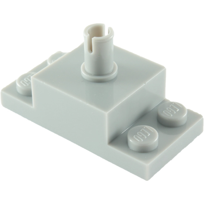 30592 6 pieces pin horizontally 7690 7238 42 # LEGO Brick 2x2 2x4 NEW dark grey