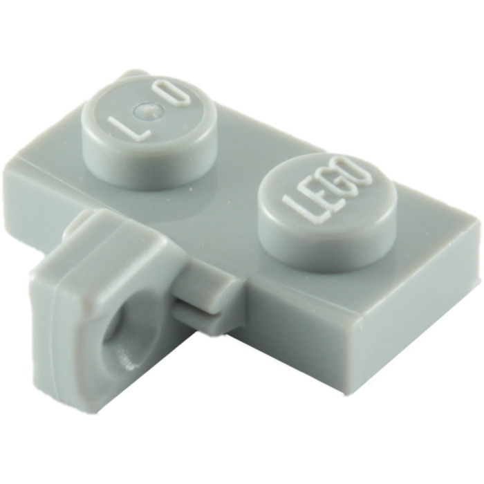 200 x Lego ® Plate//Plates 1x2 Hinge 44567 in New Light Grey//LBG NEW