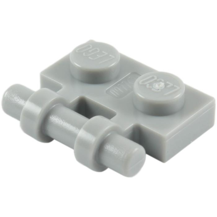 NEUF NEW Lego 2540-8x Plaque // Plate Noir // Black modified 1x2 handle