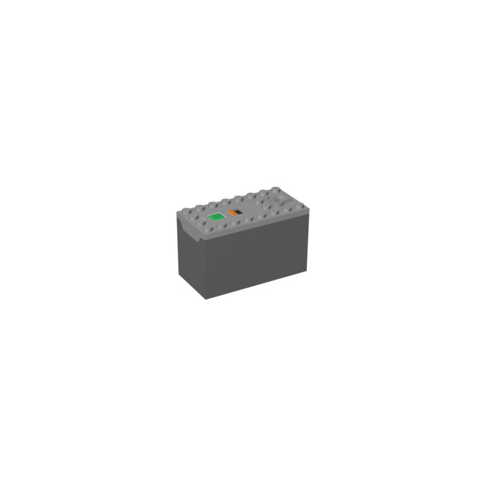 LEGO Medium Stone Gray Power Functions Battery Box (AAA Non-Rechargeable) (64228  sc 1 st  Brick Owl : lego power functions battery box - Aboutintivar.Com