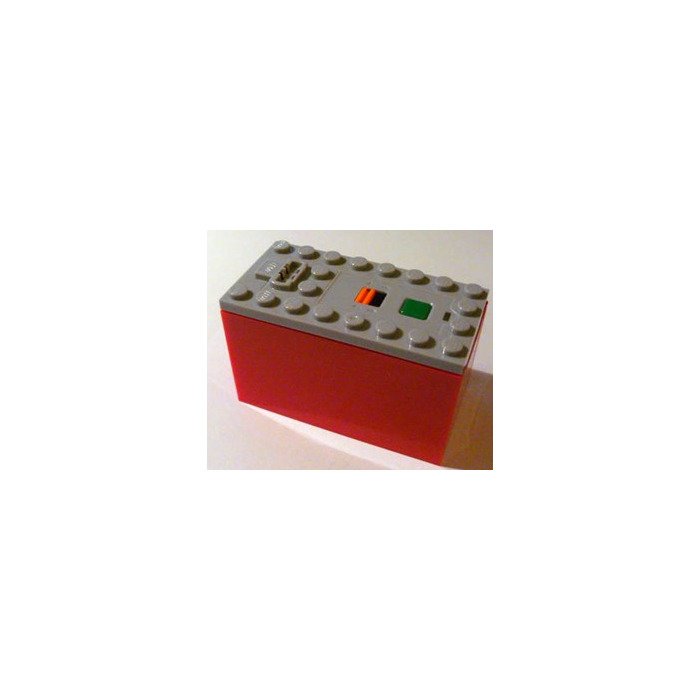 LEGO Power Functions Battery Box with Red Bottom (Non-Rechargeable) (87513)  sc 1 st  Brick Owl & LEGO Top for Power Functions Battery Box (87513) | Brick Owl ... Aboutintivar.Com