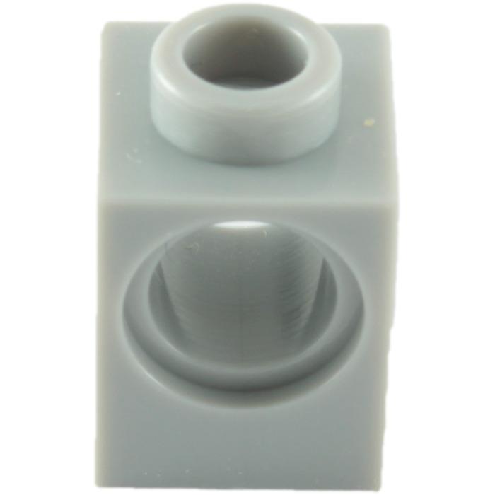 blanc, white 4 x LEGO 6541 Brique Trou Technic Brick 1x1 Hole NEUF NEW