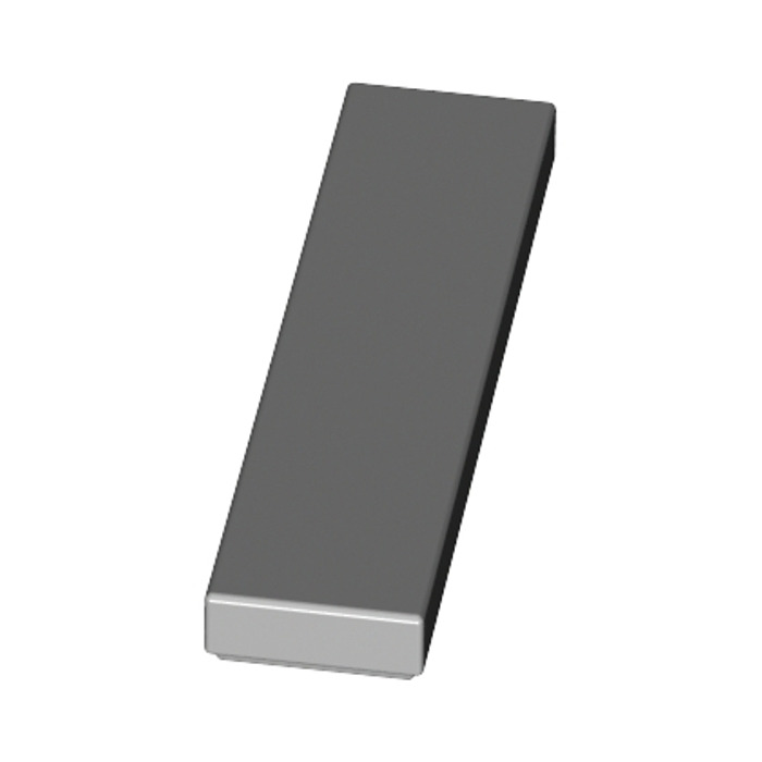 flat tile 1x4 Lego 4 x 2431 Smooth Plate Grey Bluish Grey Gray