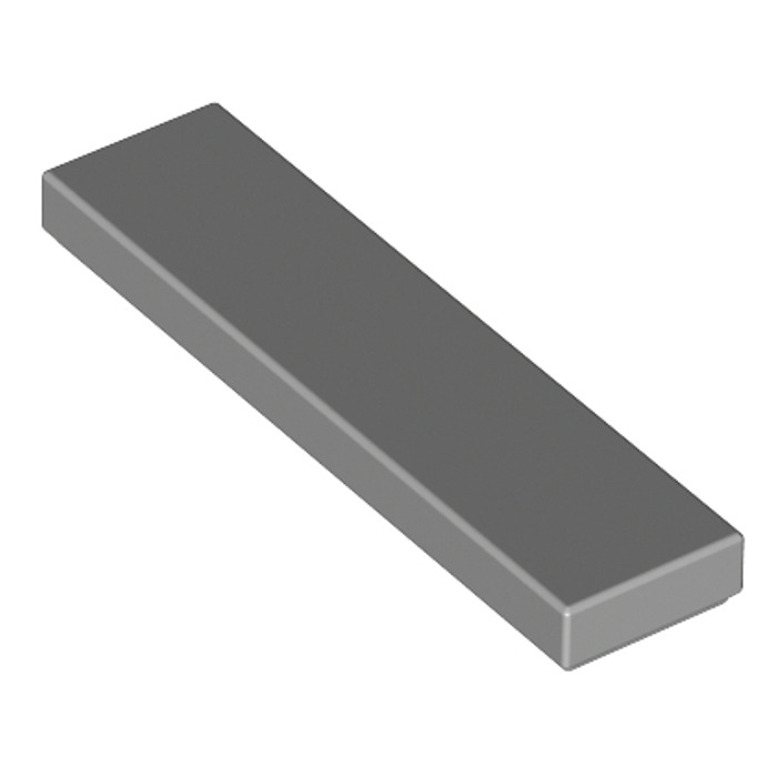 6 x lego 2431 Plate Smooth Flat Tile 1x4 New New Black, Black