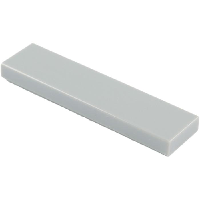 Lego 4 x 2431 Smooth Plate flat tile 1x4 Bluish Grey Gray Grey