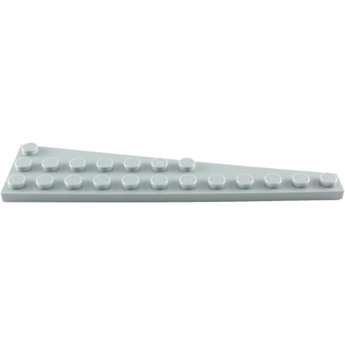 lego medium stone gray wing 3 x 12 left 47397 brick owl lego marketplace. Black Bedroom Furniture Sets. Home Design Ideas