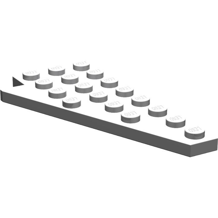 3934 a LEGO BASIC Technique Technic par 1 Plaque 4x8 Blanc #3933a