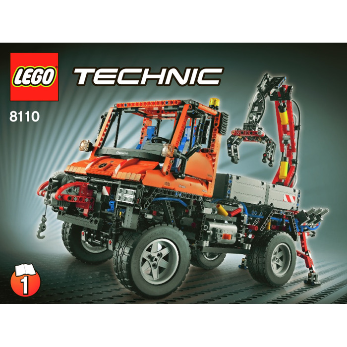 lego technic unimog instructions