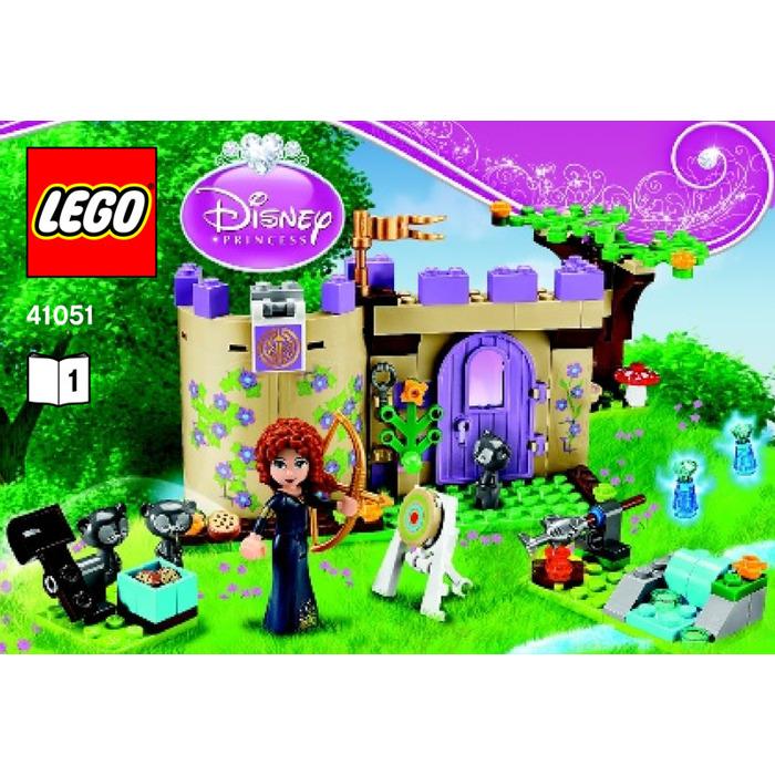 Merida/'s Highland Games Disney Princess LEGO 41051 STICKER SHEET