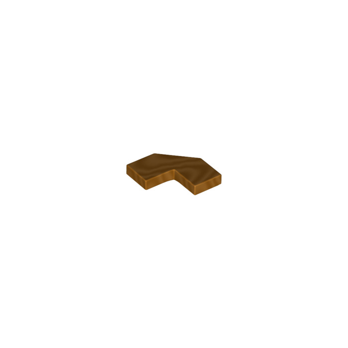 LEGO Gold Metallic Brick 2X2