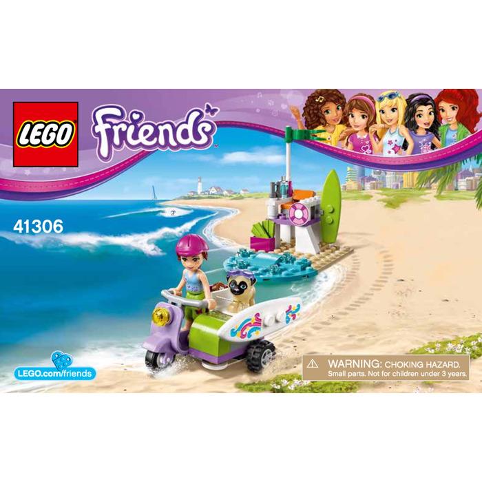 Lego Mias Beach Scooter Set 41306 Instructions Brick Owl Lego