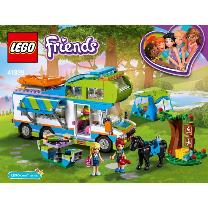 Lego Mias Camper Van Set 41339 Instructions Brick Owl Lego