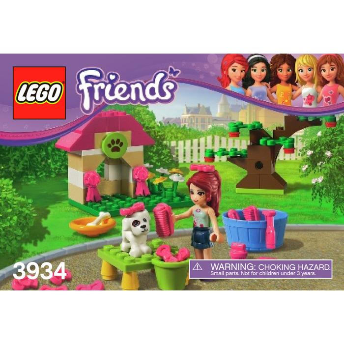 Lego Mias Puppy House Set 3934 Instructions Brick Owl Lego