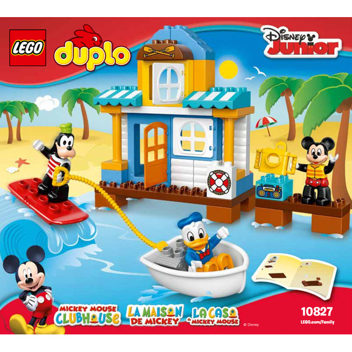 Lego Mickey Friends Beach House Set 10827 Instructions Brick Owl