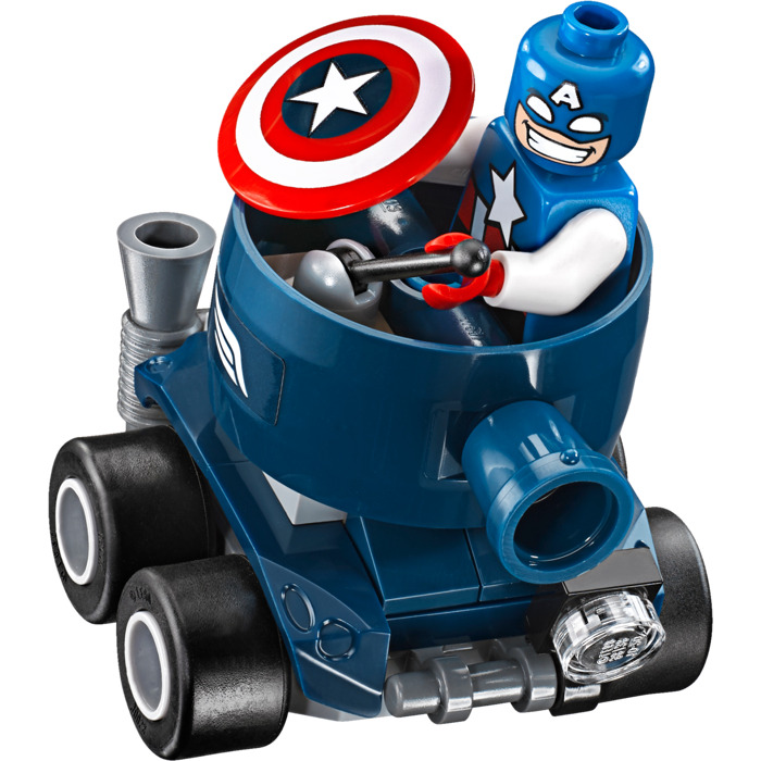 LEGO Mighty Micros: Captain America vs. Red Skull Set 76065 | Brick ...