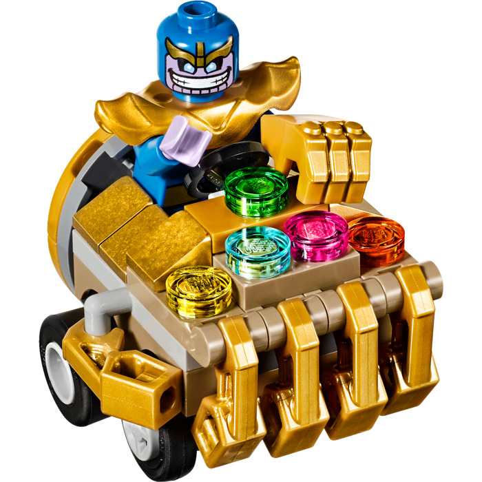 Lego Mighty Micros Iron Man Vs Thanos Set 76072 Brick