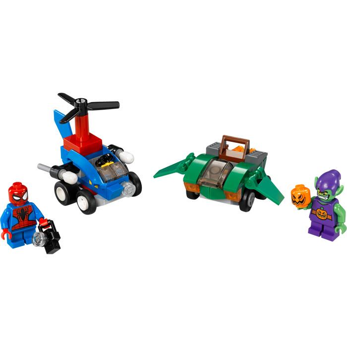 LEGO Mighty Micros: Spider Man Vs. Green Goblin Set 76064