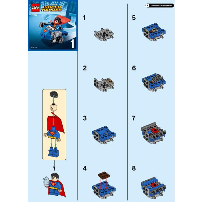 lego batman vs superman instructions