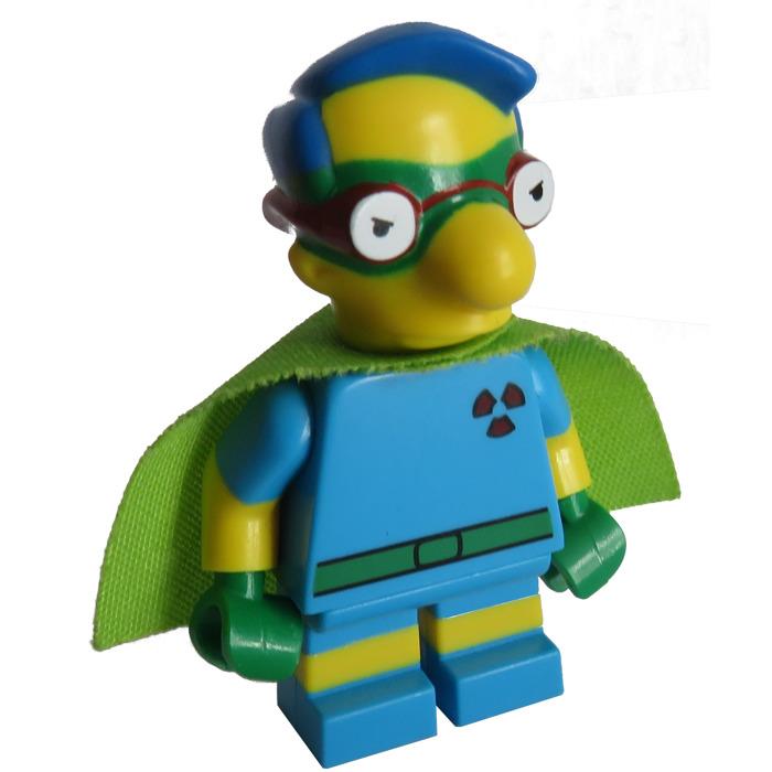 New Sealed Lego Simpsons Series 2 Fallout Boy Milhouse