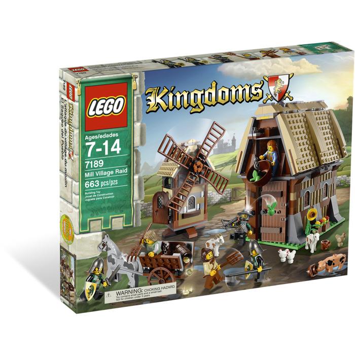 LEGO Mill Village Raid Set 7189   Brick Owl - LEGO Marketplace