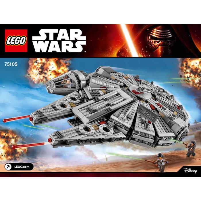 Lego Millennium Falcon Set 75105 Instructions Brick Owl Lego