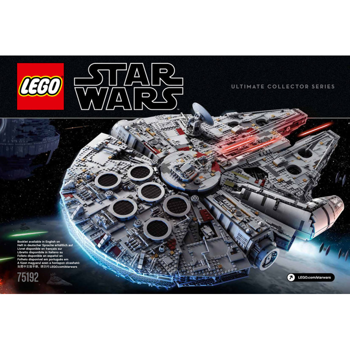LEGO Millennium Falcon Set 75192 Instructions | Brick Owl - LEGO ...