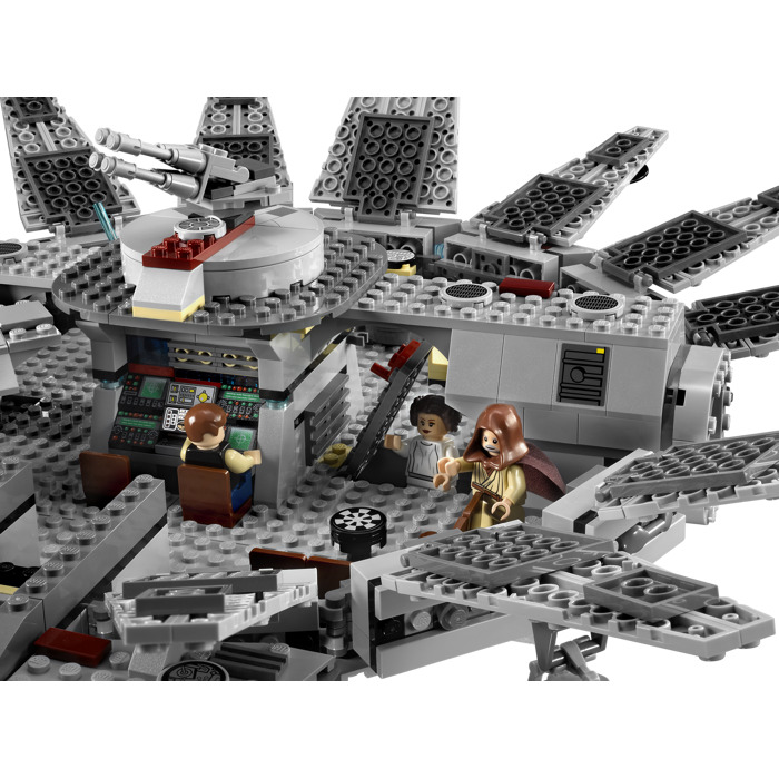 lego millennium falcon set 7965 brick owl lego marketplace. Black Bedroom Furniture Sets. Home Design Ideas