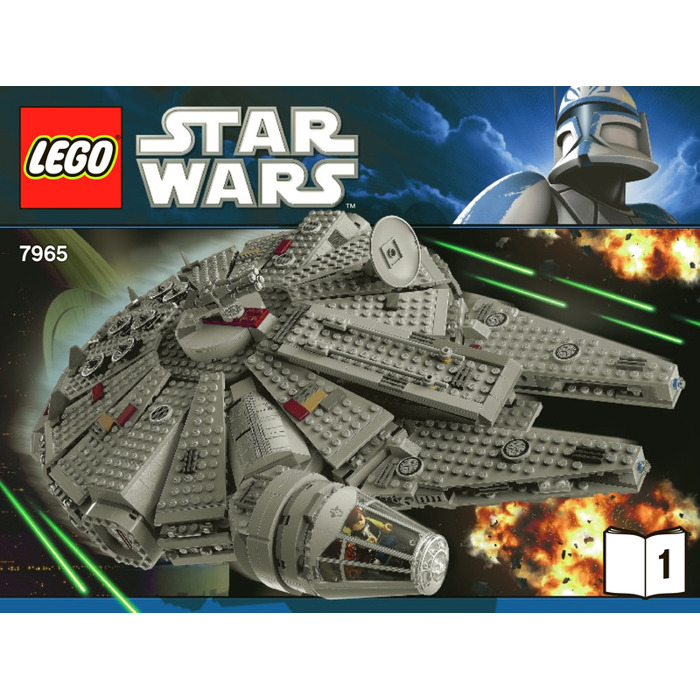 lego star wars millennium falcon instructions