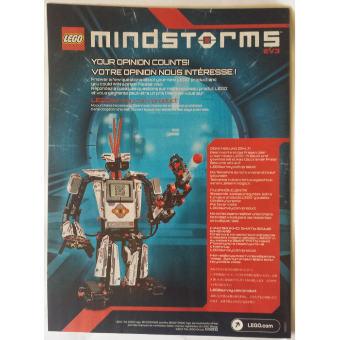 Lego Mindstorms Ev3 Set 31313 Instructions Brick Owl Lego