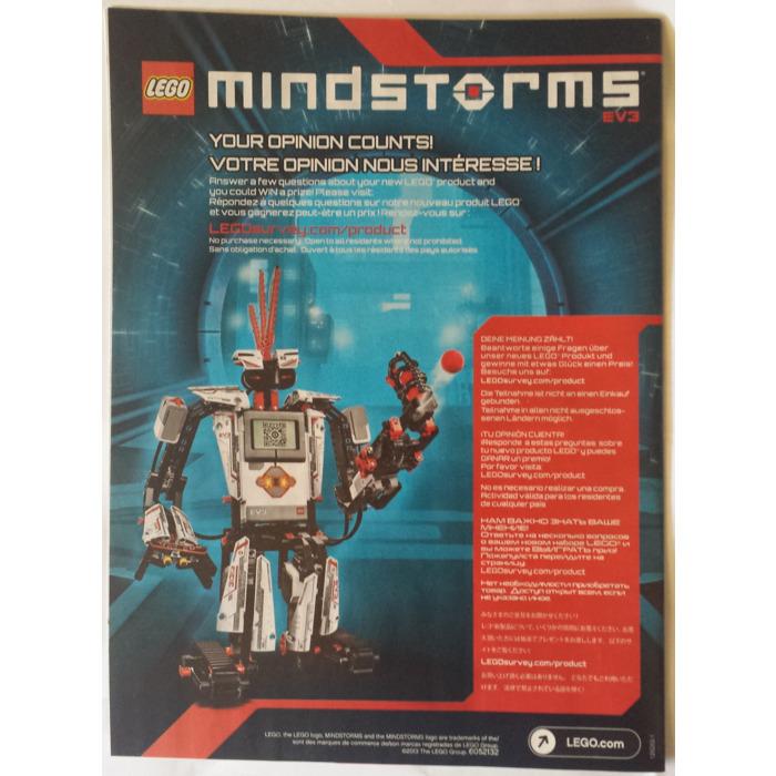Lego Mindstorms Ev3 Instructions
