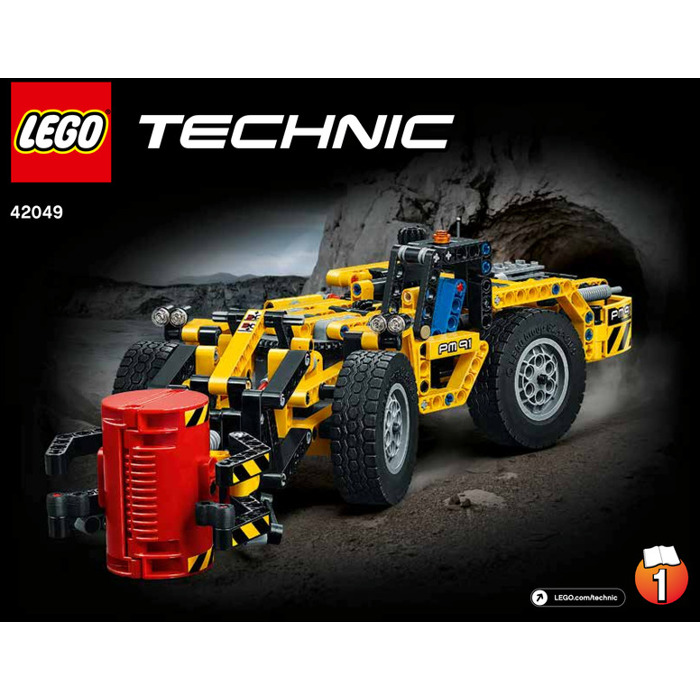 Lego Mine Loader Set 42049 Instructions Brick Owl Lego Marketplace