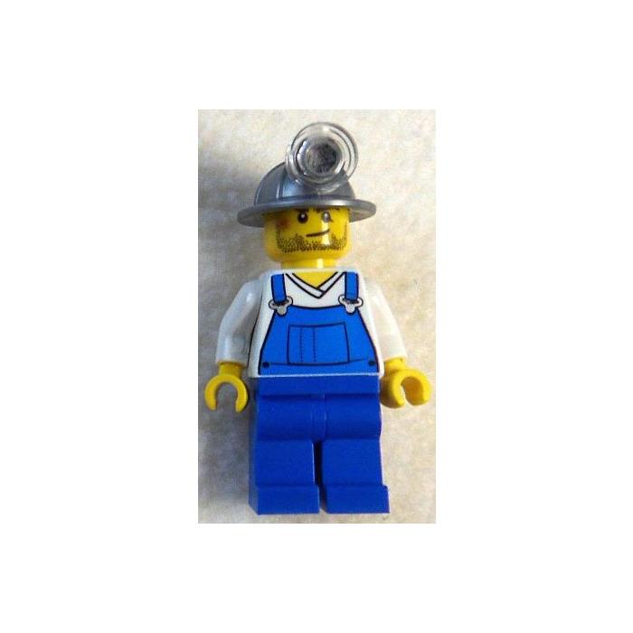 Mechanic City Lego Minifigure Grey Overalls
