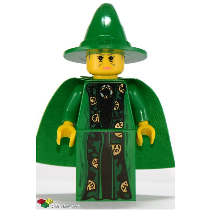 LEGO  New Minifig Green Wizard/'s Hat  Harry Potter 4729