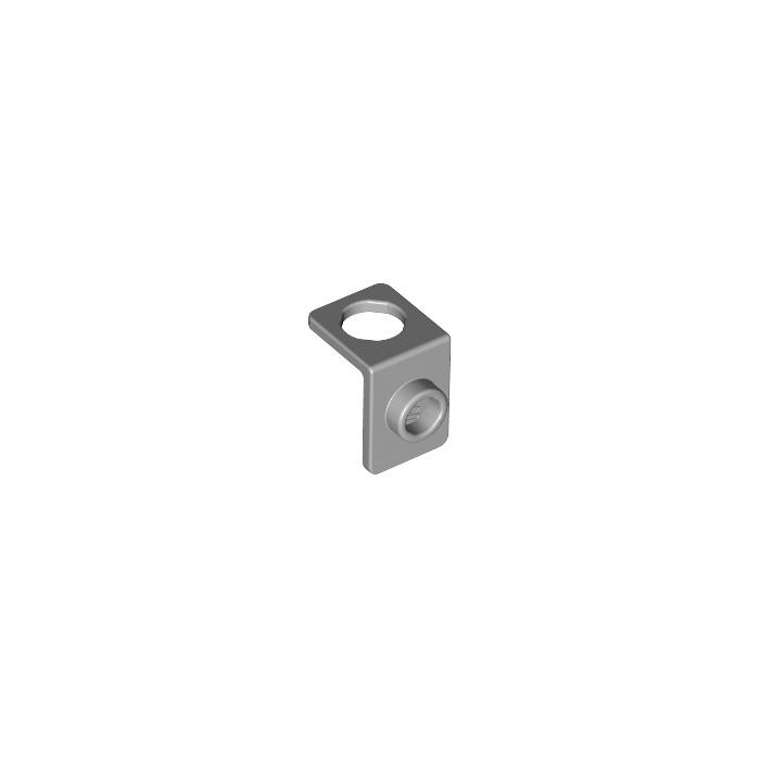 NEW Dark Bluish Gray MINIFIG NECK BRACKET Package Holder Back Plate w// Stud-Knob