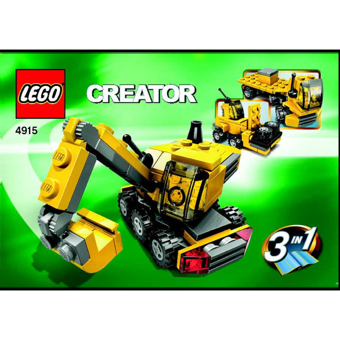 Lego Mini Construction Set 4915 Instructions Brick Owl Lego