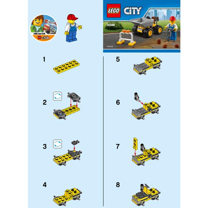 Lego Mini Dumper Set 30348 Instructions Brick Owl Lego Marketplace