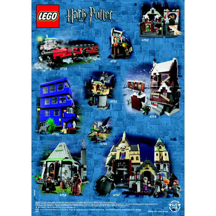 Lego Mini Harry Potter Knight Bus Set 4695 Instructions Brick Owl