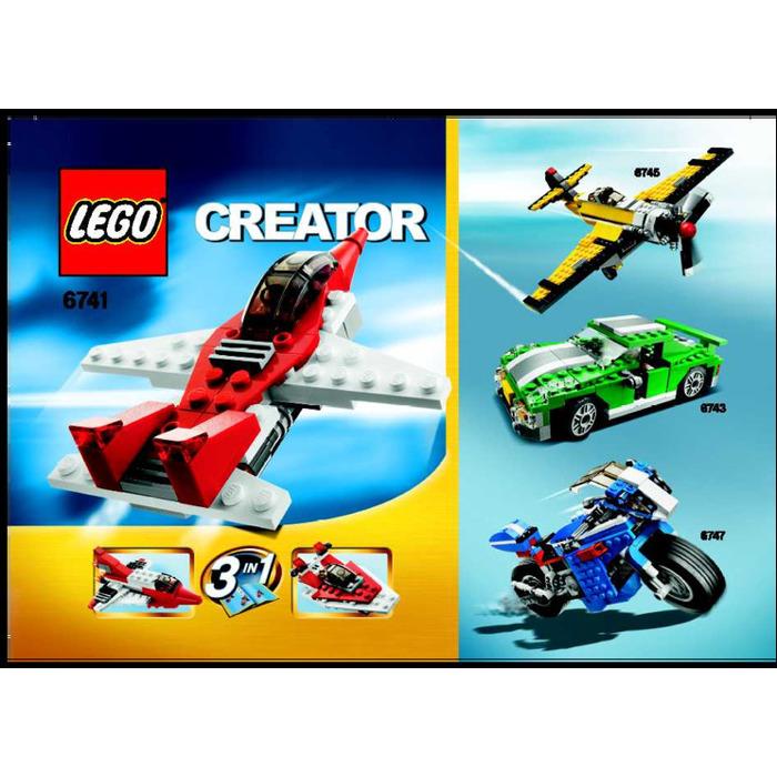 Lego Mini Jet Set 6741 Instructions Brick Owl Lego Marketplace