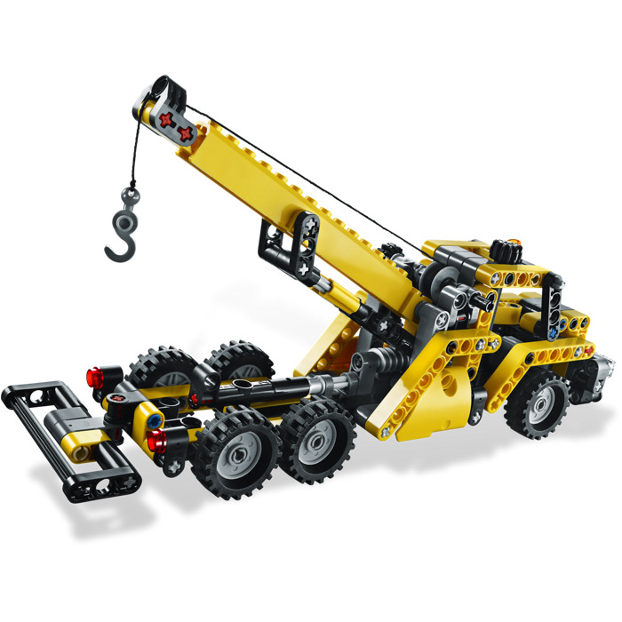 lego mini mobile crane set 8067 brick owl lego marketplace. Black Bedroom Furniture Sets. Home Design Ideas