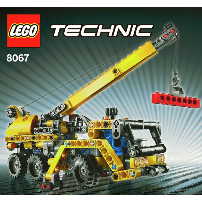 Lego Mini Mobile Crane Set 8067 Instructions Brick Owl Lego