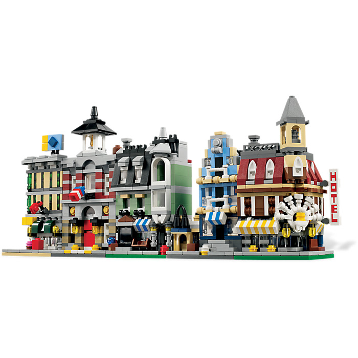 Lego mini modulars set 10230 brick owl lego marketplace for Mini palazzi