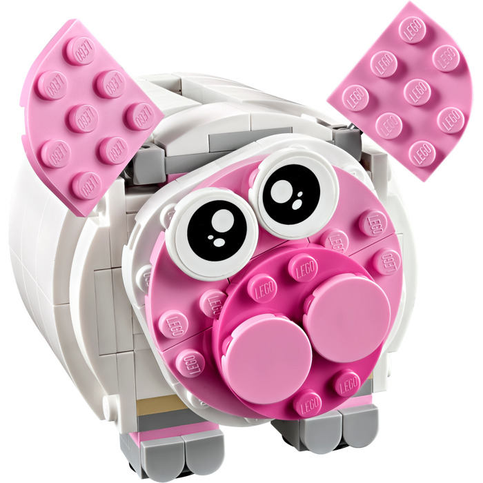 Lego mini piggy bank set 40251 brick owl lego marketplace for Mini piggy banks