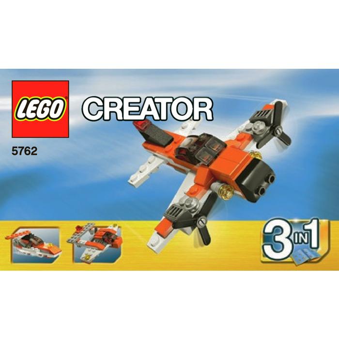 Lego Mini Plane Set 5762 Instructions Brick Owl Lego Marketplace