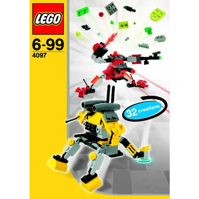 Lego Mini Robots Set 4097 Instructions Brick Owl Lego Marketplace