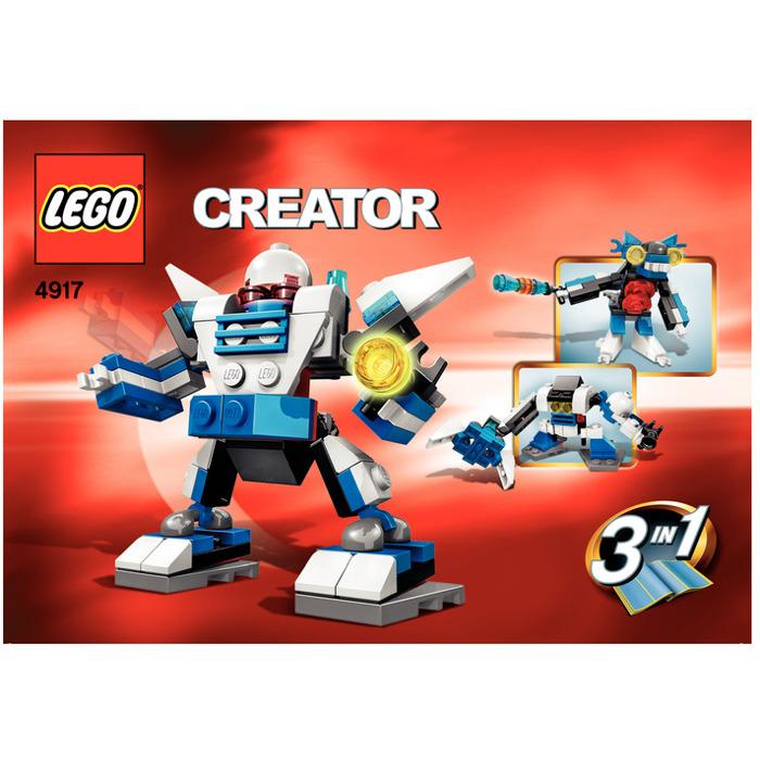 Lego Mini Robots Set 4917 Instructions Brick Owl Lego Marketplace
