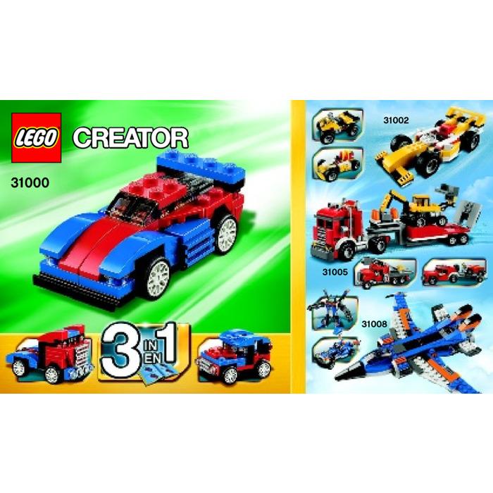 Lego Mini Speeder Set 31000 Instructions Brick Owl Lego Marketplace