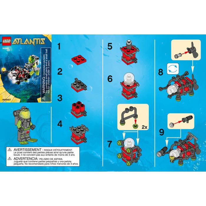 Lego Mini Sub Set 30042 Instructions Brick Owl Lego Marketplace