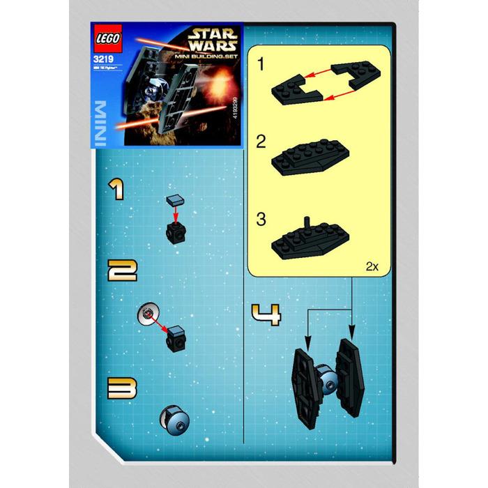 Lego Mini Tie Fighter Set 3219 Instructions Brick Owl Lego