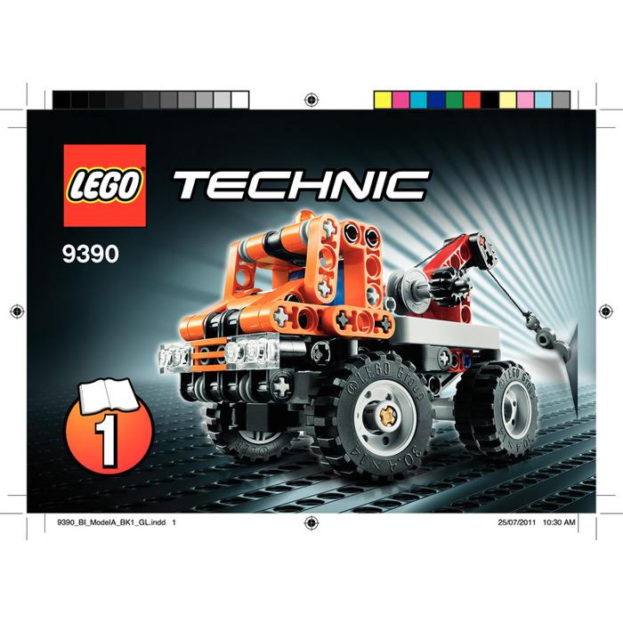 Lego Mini Tow Truck Set 9390 Instructions Brick Owl Lego Marketplace
